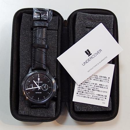 UNDERCOVER fuck the clock 腕時計買取りました!