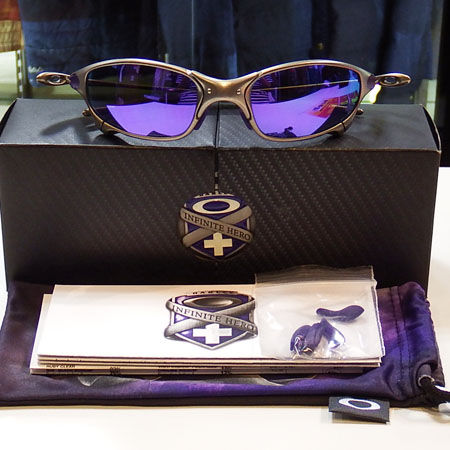 OAKLEY JULIET INFINITE HERO PLASMA Violet Irid