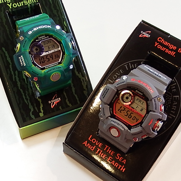 G-SHOCK!! RANGEMAN EARTH WAT...