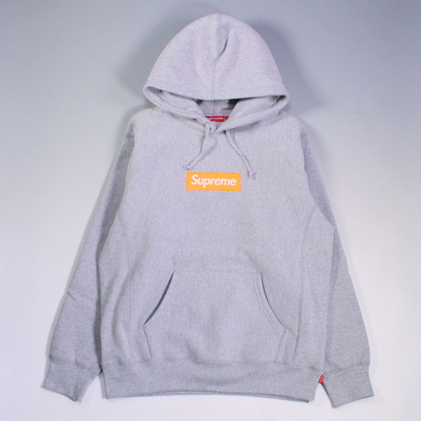 17aw Supreme Box Logo Hooded