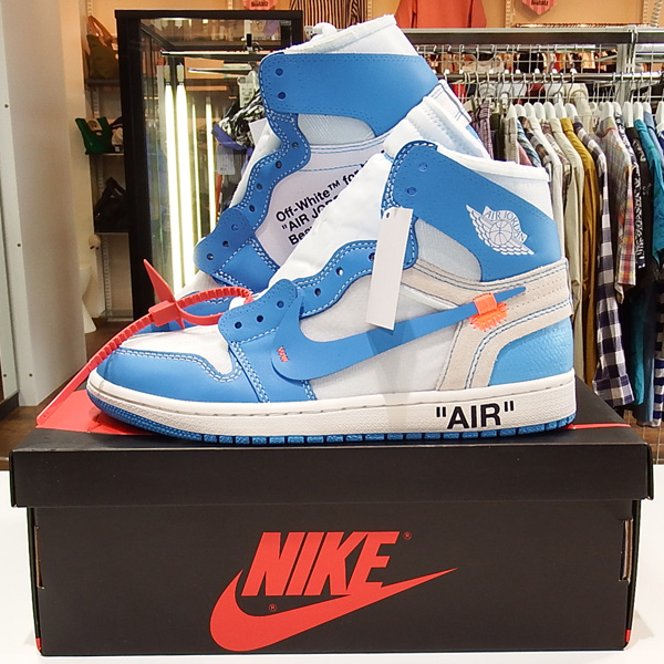 AIR JORDAN 1 RETRO HIGH OFF-WHITE POWDER BLUE