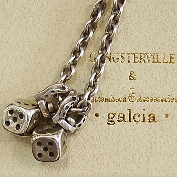 GANGSTERVILLE × galcia ダイスネックレス