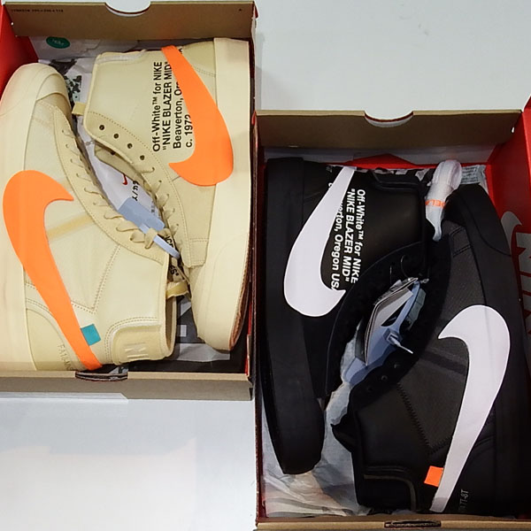 THE10 : NIKE OFF-WHITE BLAZER