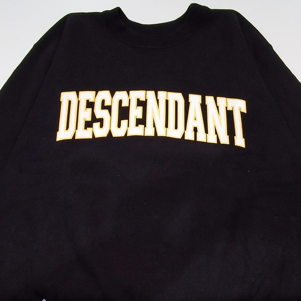 DESCENDANT TEAM CREW NECK SWEATSHIRT