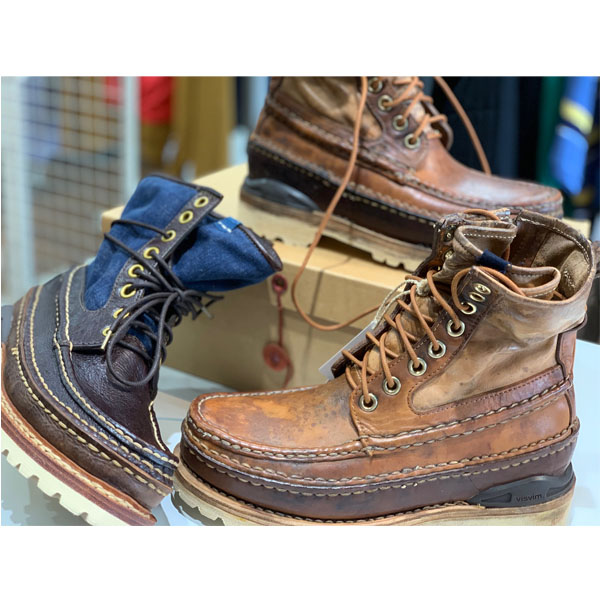 visvim ICT GRIZZLY BOOTS