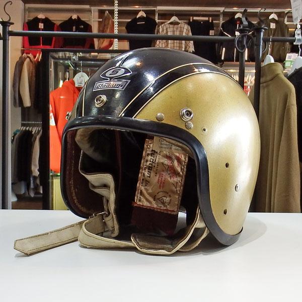 60s 英国製 STADIUM Project 4 ジェットヘルメット
