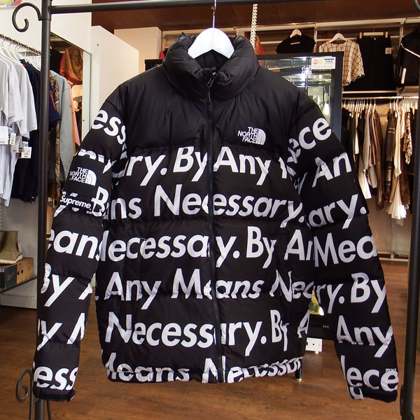 Supreme the north face NUPTSE JACKET キムタク