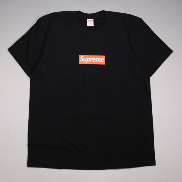 19aw Supreme San Francisco Box Logo Tee Black 買取り