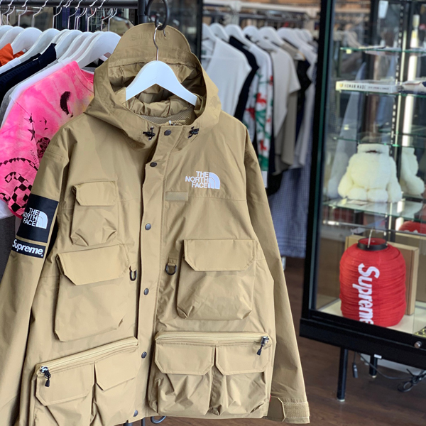 20ss Supreme The North Face Cargo Jacket Gold