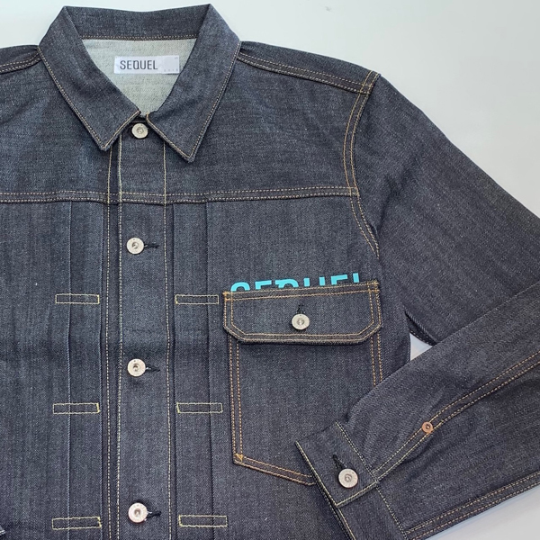 fragment design SEQUEL DENIM JACKET