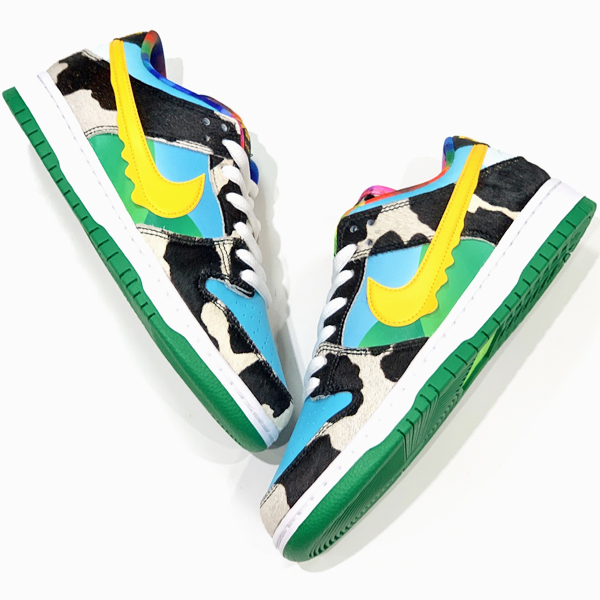 NIKE SB DUNK LOW PRO QS BEN & JERRY'S CHUNKY DUNKY 買取り