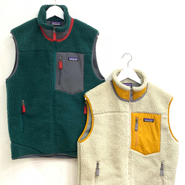 Patagonia Retro Vest 買取りました