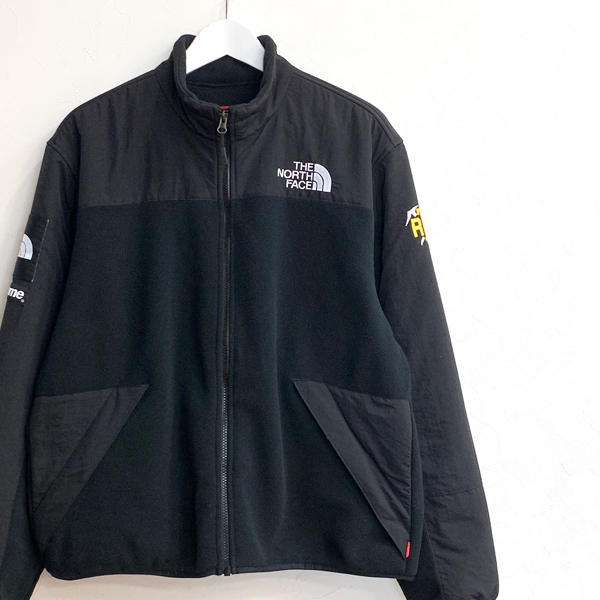 Supreme The North Face RTG Fleece Jacket Black 買取りました