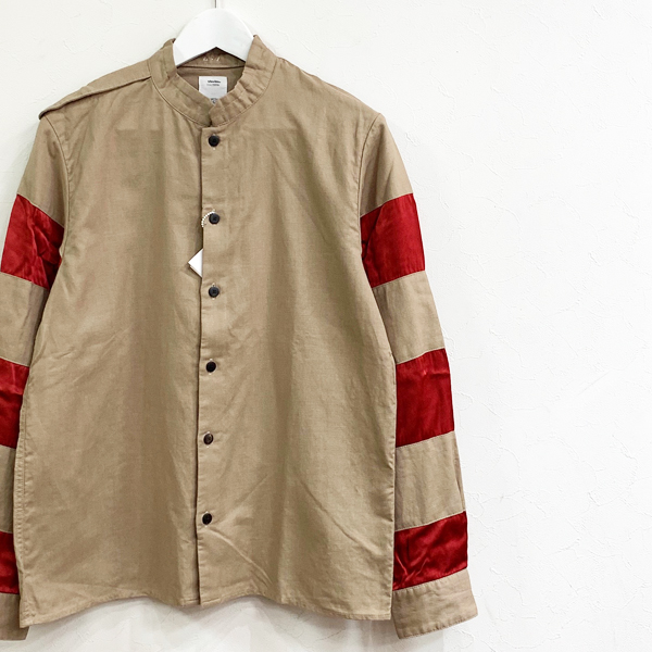 20ss visvim TRIPLE CROWN SHIRT L/S BEIGE