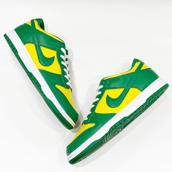 NIKE DUNK LOW SP PINE GREEN BRAZIL 買取りました