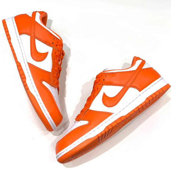 NIKE DUNK LOW SP ORANGE Syracuse 買取りました