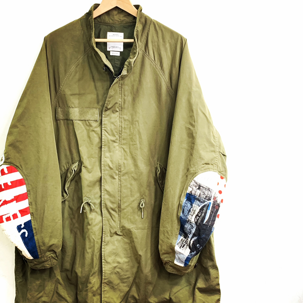 visvim SIX-FIVE FISHTAIL PARKA COLLAGE 買取りました