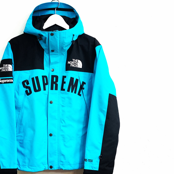 19ss Supreme The North Face Arc Logo Mountain Jacket Teal 高価買取り