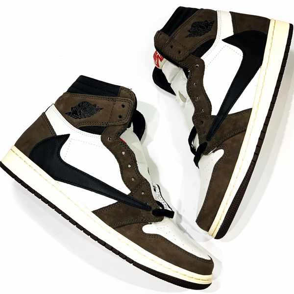 NIKE AIR JORDAN1HIGH OQ TS SP 買取りました