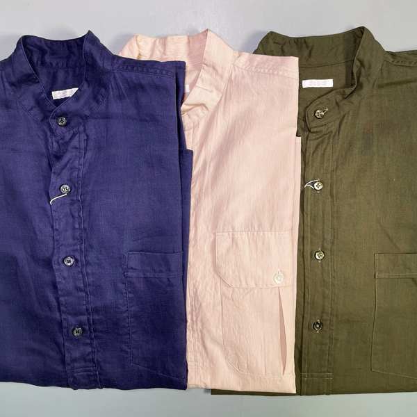 COMOLI リネンWクロス プルオーバーシャツ買取りました!