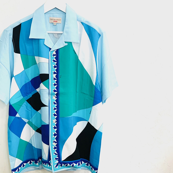 21ss Supreme Emilio Pucci S/S Shirt